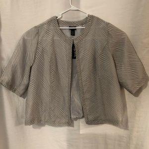 NWT Maggie Barnes Plus Size 3X Blazer